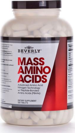 Beverly International Mass Amino Acids Bottle