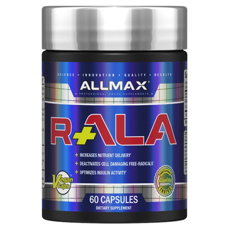 ALLMAX Nutrition R-ALA Complex Bottle