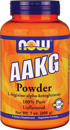 Now AAKG Powder 100% Pure