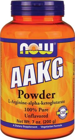 Now AAKG Powder 100% Pure Bottle