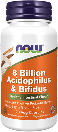Now 8 Billion Acidophilus & Bifidus bottle