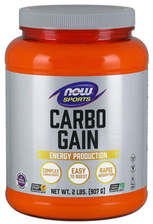 Now Carbo Gain Bottle