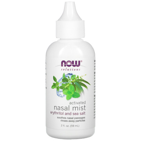 Now Activated Nasal Mist bottle