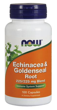 Now Echinacea & Goldenseal Root Bottle