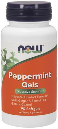 Now Peppermint Gels Bottle