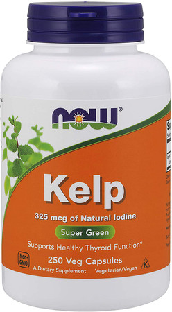 Now Kelp 325 MCG bottle