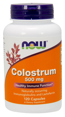 Now Colostrum 500 mg Bottle