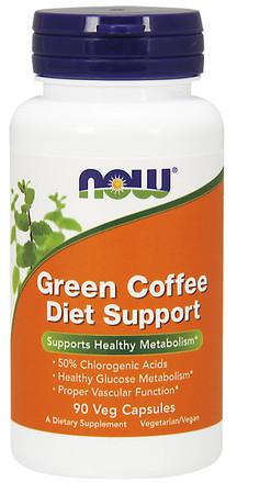 Now Green Coffee Diet Support Bottle