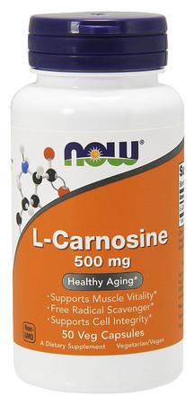 Now L-Carnosine 500mg Bottle