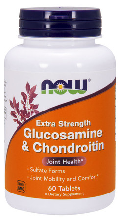 Now Glucosamine & Chondroitin-Xt. Strength Bottle