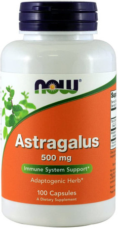 Now Astragalus 500mg bottle