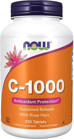 Now C-1000 w/Rose Hips bottle