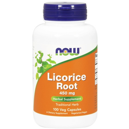 Now Licorice Root 450mg Bottle