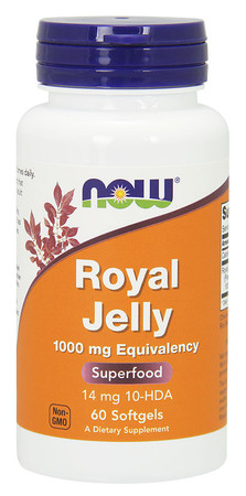 Now Royal Jelly 1000 mg Bottle
