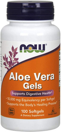 Now Aloe Vera Gels bottle