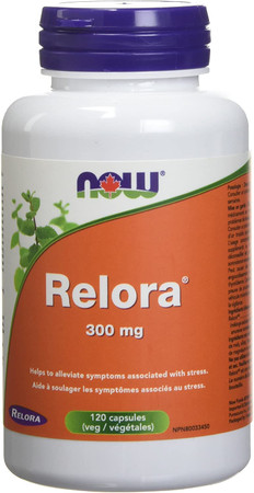 Now Relora 300mg bottle
