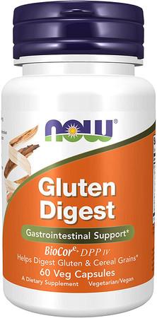 Now Gluten Digest bottle