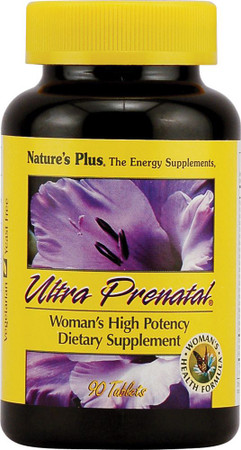 Nature's Plus Ultra Prenatal Bottle