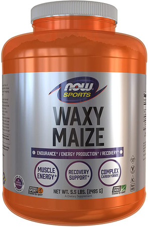 Now Waxy Maize Powder bottle