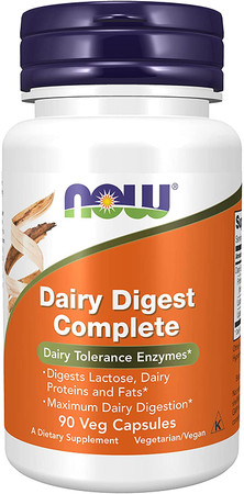 Now Dairy Digest Complete bottle