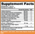 Axis Labs Synthalean XD supplement facts