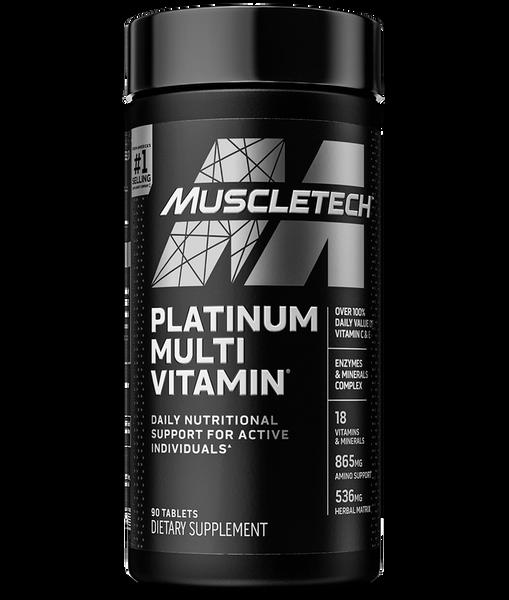 MuscleTech Platinum Multi Vitamin Bottle