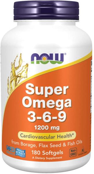 Now Super Omega 3-6-9 bottle