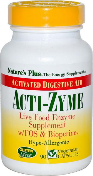 Nature's Plus Acti-Zyme Bottle