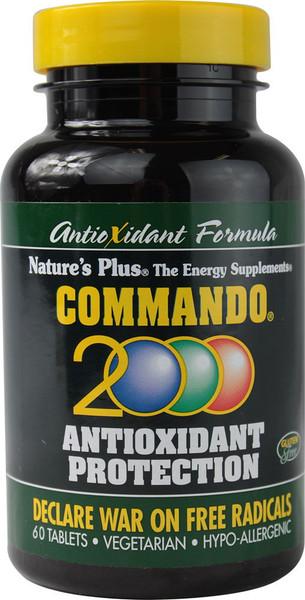 Nature's Plus Commando 2000 Bottle