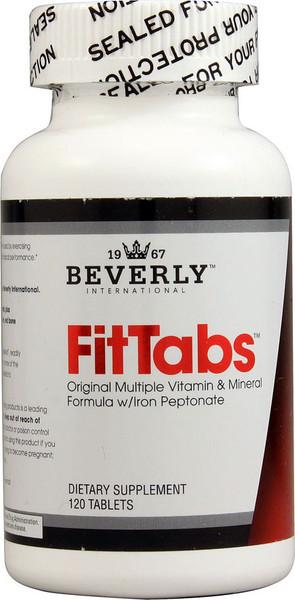 Beverly International FitTabs Bottle
