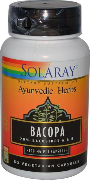 Solaray Bacopa Bottle