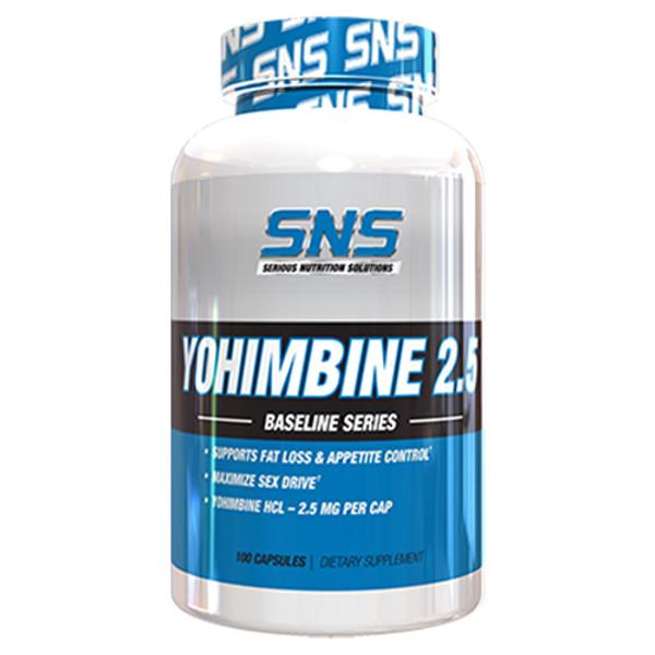 SNS Yohimbine 2.5 Bottle