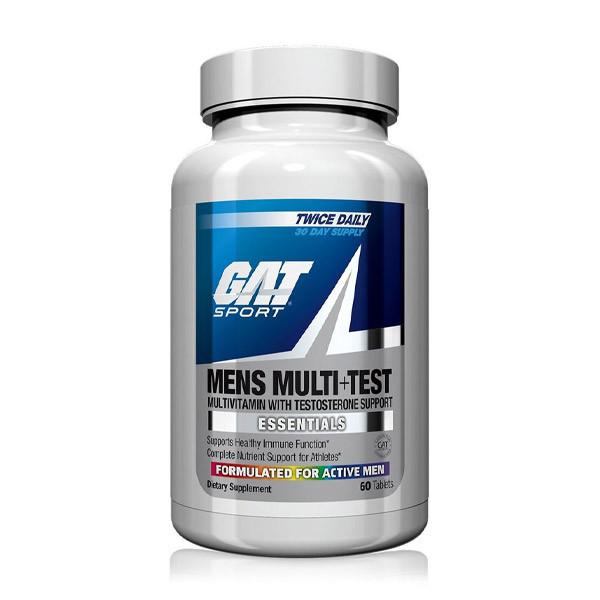 GAT Sport Men's Multi + Test Bottle