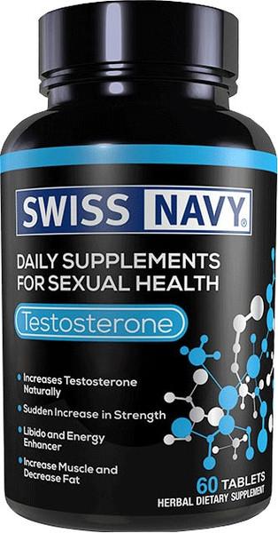 Swiss Navy Testosterone Bottle