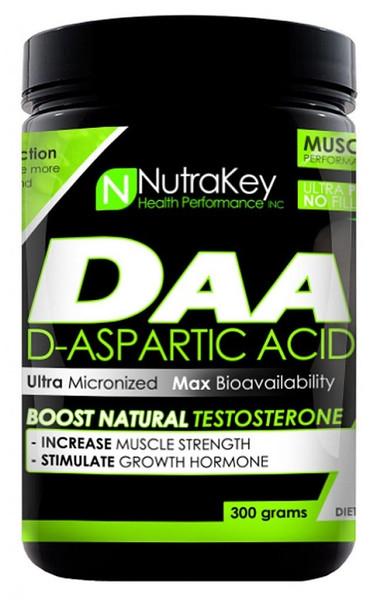 Nutrakey D-Aspartic Acid Bottle