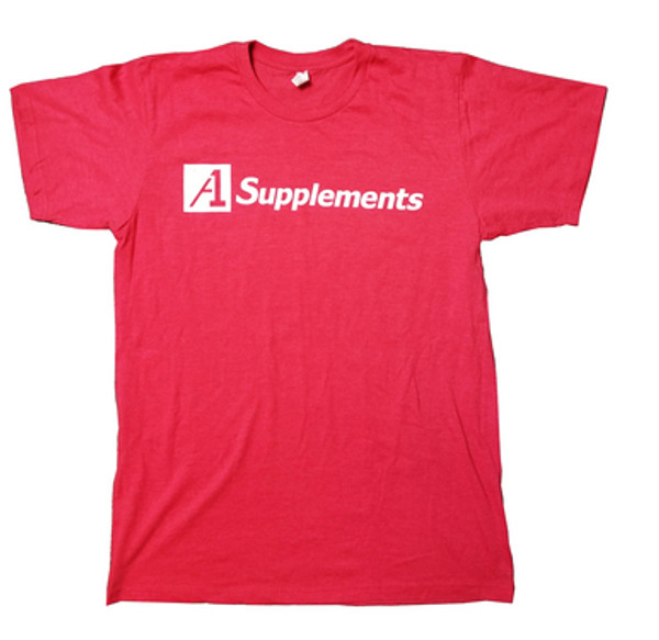 A1Supplements T-Shirt Red