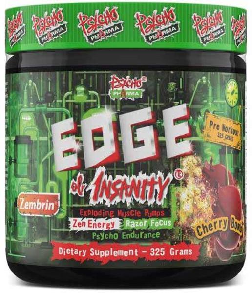 Psycho Pharma Edge Of Insanity Bottle