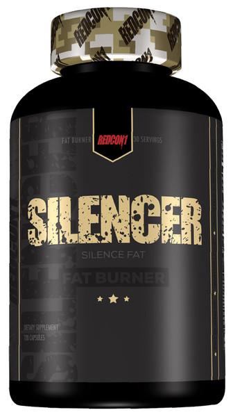 Redcon1 Silencer - Stim Free Fat Burner Bottle