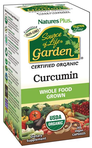 Nature's Plus Source of Life Garden Curcumin Organic Bottle