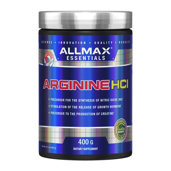 ALLMAX Nutrition Arginine HCI Bottle