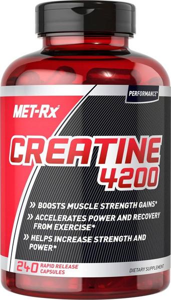 MET-RX Creatine 4200 Bottle