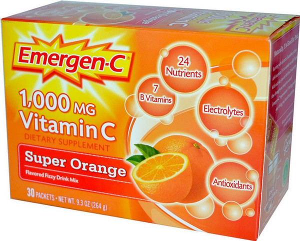 Alacer Emergen-C 1,000 mg Vitamin C