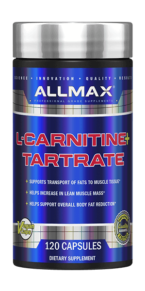 ALLMAX Nutrition L-Carnitine + Tartrate Bottle
