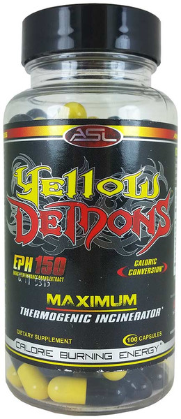 Anabolic Science Labs Yellow Demons Bottle