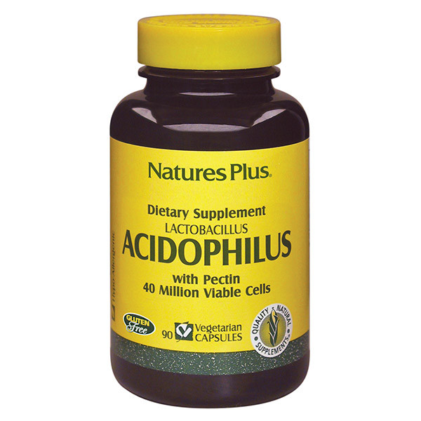 Nature's Plus Acidophilus Bottle