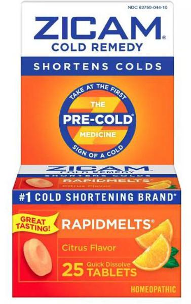 Zicam Cold Remedy RapidMelts Box