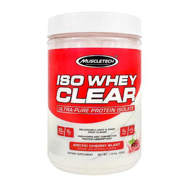 MuscleTech Iso Whey Clear Bottle