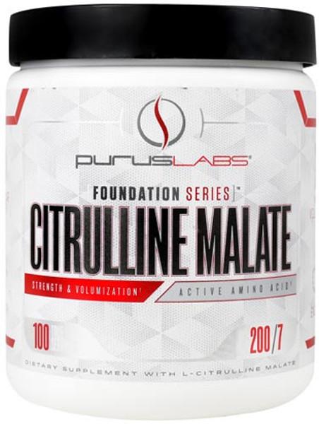 Purus Labs Citrulline Malate Bottle