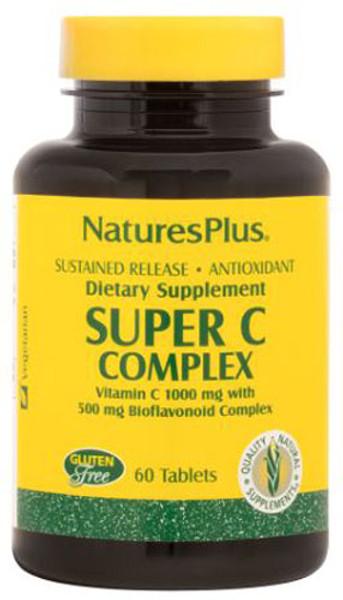 Natures Plus Super C Complex Bottle