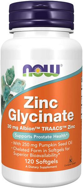 Now Zinc Glycinate bottle